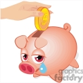 sad piggy bank gif, png, jpg, eps, svg, pdf