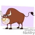 4366-Bull-Cartoon-Character