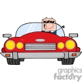 4353-cartoon-doodle-businessman-driving-convertible-car  gif, png, jpg, eps, svg, pdf