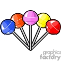 bunch of lollipops
