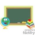 chalkboard in a classroom