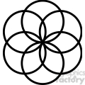 flower symbol 004