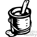 black and white paint can gif, png, jpg, eps, svg, pdf