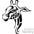 giraffe logo design