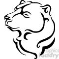 wild bear mascot 094