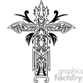 cross clip art tattoo illustrations 017