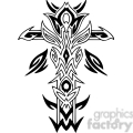 cross clip art tattoo illustrations 030