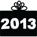 2013 New Year black gift