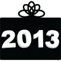 2013 New Year black gift