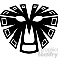 tribal masks vinyl ready art 042  gif, png, jpg, eps, svg, pdf