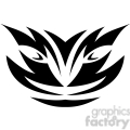 tribal masks vinyl ready art 026  gif, png, jpg, eps, svg, pdf