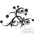chinese swirl floral design 044  gif, png, jpg, eps, svg, pdf
