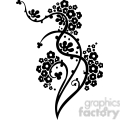 chinese swirl floral design 023  gif, png, jpg, eps, svg, pdf