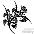 chinese swirl floral design 040  gif, png, jpg, eps, svg, pdf
