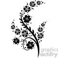 chinese swirl floral design 052  gif, png, jpg, eps, svg, pdf