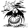 halloween clipart illustrations 011  gif, png, jpg, eps, svg, pdf
