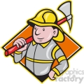fireman axe front DIA