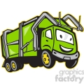 rubbish truck cartoon front  gif, png, jpg, eps, svg, pdf