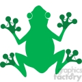 5642 royalty free clip art gree frog silhouette logo  gif, png, jpg, eps, svg, pdf