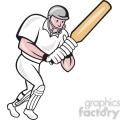 cricket batsman batting frnt side  gif, png, jpg, eps, svg, pdf