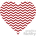 chevron heart design pattern gray
