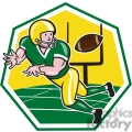 american football wide receiver catch ball  gif, png, jpg, eps, svg, pdf