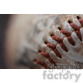 vintage baseball close up