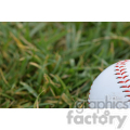 baseball in grass  jpg