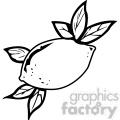 black and white lemon