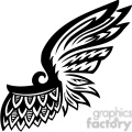 one wing feather tattoo gif, png, jpg, eps, svg, pdf