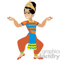 indian female dancing  gif, png, jpg, eps, svg, pdf