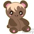 Teddy Bear vector clip art image