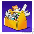 image of tool box herramientas de carpinteria