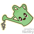 Watering Can cartoon character illustration