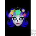 day of the dead 7 cartoon character illustration  gif, png, jpg, eps, svg, pdf