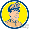 policeman winking front CIRC