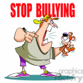 stop bullying man yelling at stuffed animal  gif, png, jpg, eps, svg, pdf