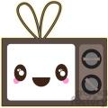 TV cartoon character vector image