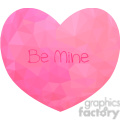 Conversation Heart geometry geometric polygon vector graphics RF clip art images