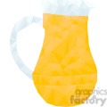 pitcher of juice geometry geometric polygon vector graphics rf clip art images  gif, png, jpg, eps, svg, pdf