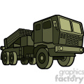 military armored mobile missle strick vehicle