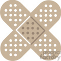 crossed band aids  gif, png, jpg, eps, svg, pdf