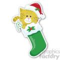 christmas stockings v4 sticker  gif, png, jpg, eps, svg, pdf