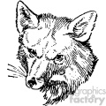 fox vintage vintage 1900 vector art GF
