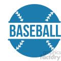 baseball design svg cut file vector