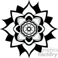 mandala geometric vector design 012