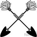 arrows crossed vector design 05