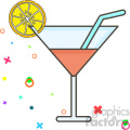 Martini vector clip art images