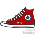 Sneakers vector art