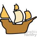 pirate ship vector art